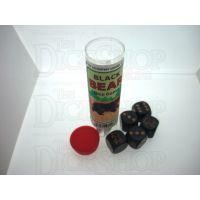 Koplow Black Bear 5 x D6 Spot Dice Game