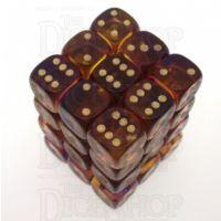 D&G Gem Blitz Purple 36 x D6 Dice Set