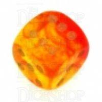 D&G Gem Blitz Red 15mm D6 Spot Dice