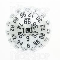 CLEARANCE GameScience Silver 100 Sided D100 Dice