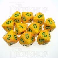 Chessex Speckled Lotus 10 x D10 Dice Set