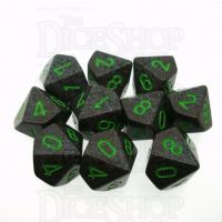 Chessex Speckled Earth 10 x D10 Dice Set