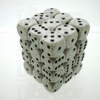 Chessex Speckled Arctic Camo 36 x D6 Dice Set