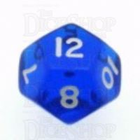 D&G Gem Blue D12 Dice