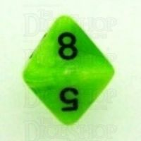 Chessex Vortex Bright Green D8 Dice
