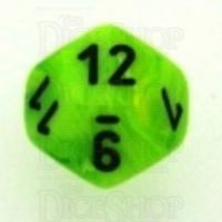 Chessex Vortex Bright Green D12 Dice
