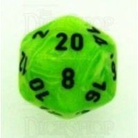 Chessex Vortex Bright Green D20 Dice
