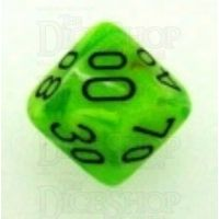 Chessex Vortex Bright Green Percentile Dice