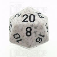Chessex Speckled Arctic Camo D20 Dice