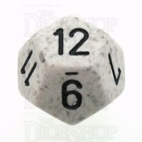 Chessex Speckled Arctic Camo D12 Dice