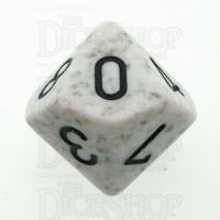 Chessex Speckled Arctic Camo D10 Dice