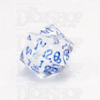 GameScience Gem Diamond & Blue Ink D20 Dice