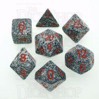 Chessex Speckled Granite 7 Dice Polyset