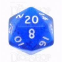 D&G Gem Blue D20 Dice