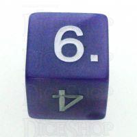 Koplow Pearl Purple D6 Dice