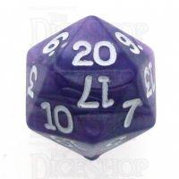 Koplow Pearl Purple D20 Dice