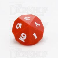 GameScience Opaque Crimson & White Ink D10 Dice