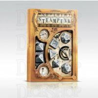 Q Workshop Steampunk Metal 7 Dice Polyset