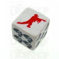 Zombie Logo D6 Dice LTD ED