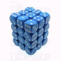 Chessex Speckled Water 36 x D6 Dice Set