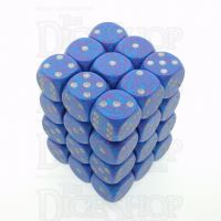 Chessex Speckled Silver Tetra 36 x D6 Dice Set