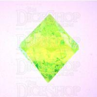 GameScience Gem Laser Yellow Peridot D14 Dice