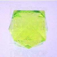 GameScience Gem Laser Yellow Peridot D24 Dice