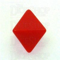 D&G Opaque Blank Red D8 Dice