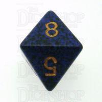 Chessex Speckled Golden Cobalt D8 Dice