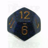 Chessex Speckled Golden Cobalt D12 Dice