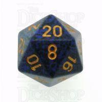 Chessex Speckled Golden Cobalt D20 Dice