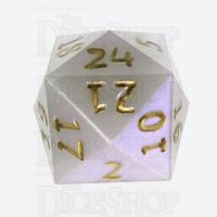 GameScience Permafrost & Gold Ink D24 Dice