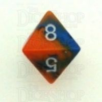 Chessex Gemini Blue & Orange D8 Dice