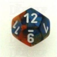 Chessex Gemini Blue & Orange D12 Dice