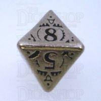 Q Workshop Steampunk Metal D8 Dice