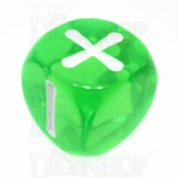 Evil Hat Atomic Robo Gem Green Fudge Fate D6 Dice