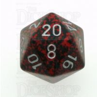 Chessex Speckled Silver Volcano D20 Dice