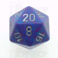 Chessex Speckled Silver Tetra D20 Dice
