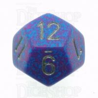 Chessex Speckled Silver Tetra D12 Dice
