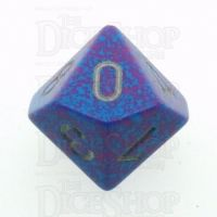 Chessex Speckled Silver Tetra D10 Dice