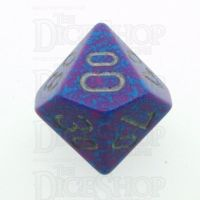 Chessex Speckled Silver Tetra Percentile Dice
