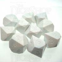 GameScience Opaque Seashell 10 x D10 Dice Set
