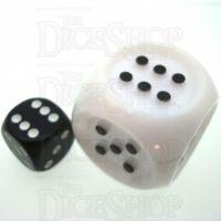 Koplow Tactile White JUMBO 32mm D6 Spot Dice