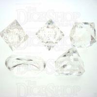GameScience Gem Diamond Zocchi D3 D5 D14 D16 D24 Dice Set