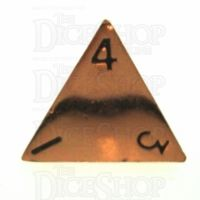 TDSO Metal Polished Copper Finish D4 Dice