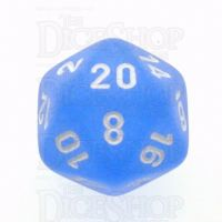 Chessex Frosted Blue & White D20 Dice