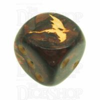 Chessex Scarab Blue Blood TheDiceShop Dragon D6 Spot Dice