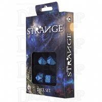 Q Workshop The Strange Blue 4 x Polyhedral Dice Set