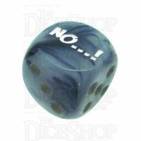 Chessex Phantom Black NO...! Logo D6 Spot Dice