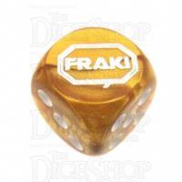 Chessex Gemini Gold FRAK! Logo D6 Spot Dice